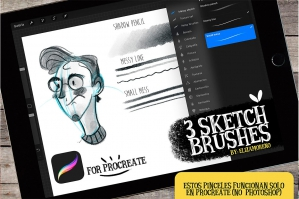 Sketch Brushes For Procreate