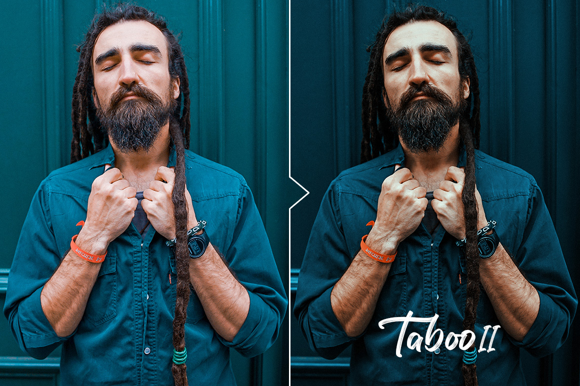Taboo - Dark Fantasy Actions for Photoshop