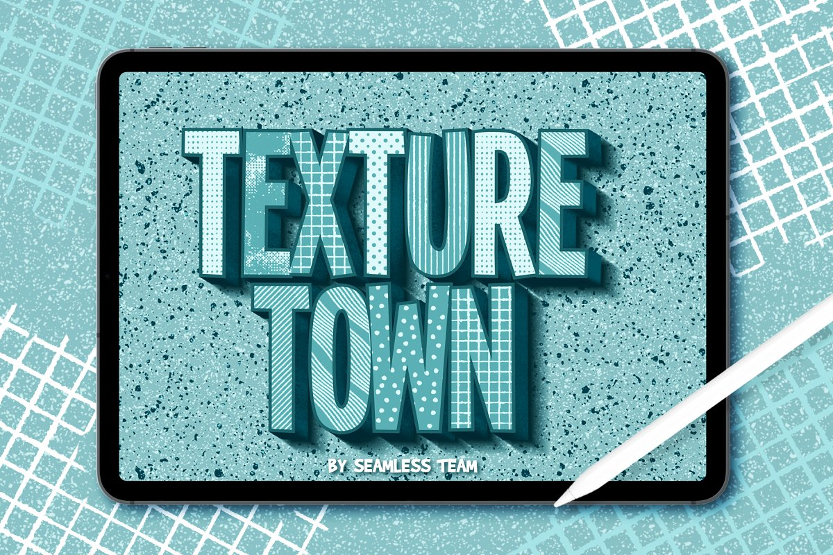 Texture Town Brush Set For Procreate