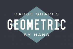 Free: Badge Shapes - Hand Illustrated