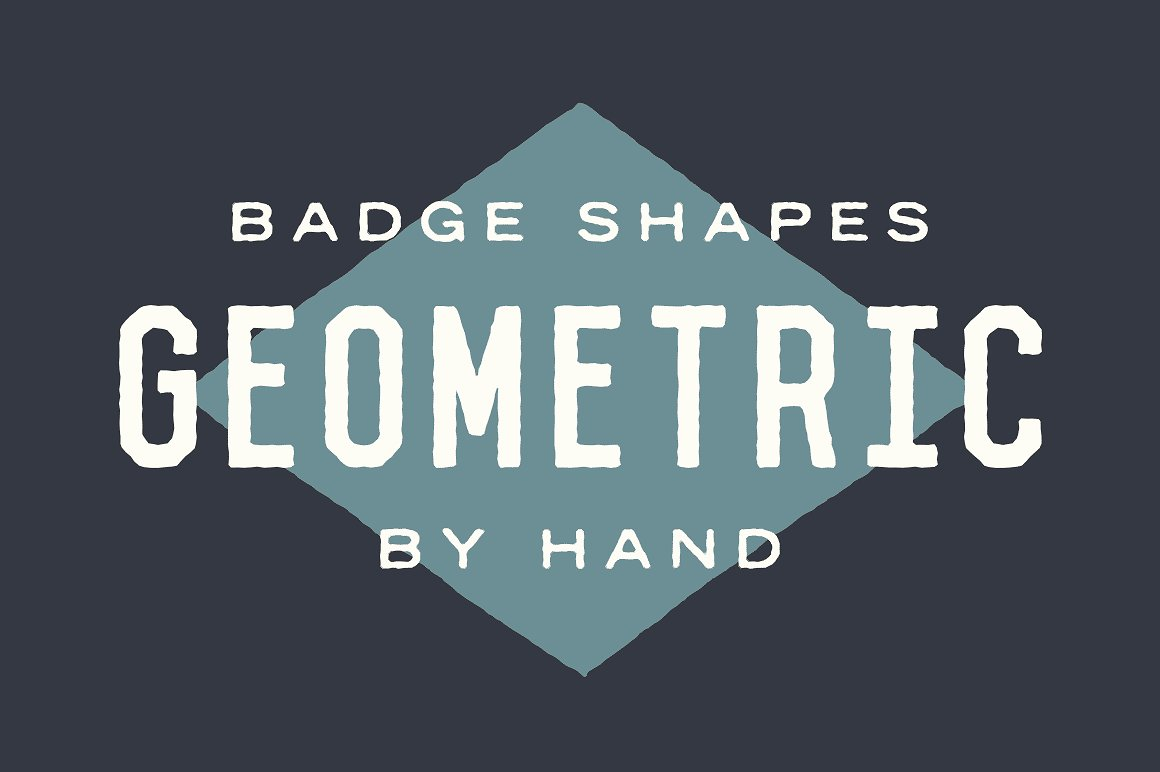 Badge Shapes - Hand Illustrated