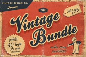 Free: Vintage Logos Collection