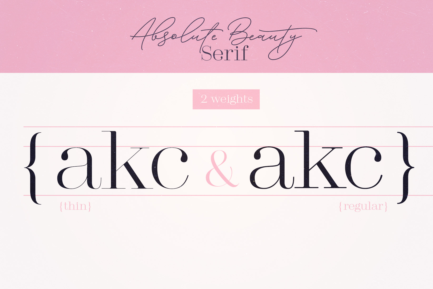 Absolute Beauty Font Family