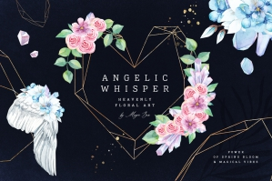Angelic Whisper Watercolor Set