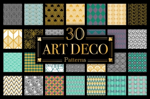 Art Deco Vector Patterns