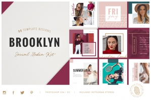 Brooklyn Social Media Pack