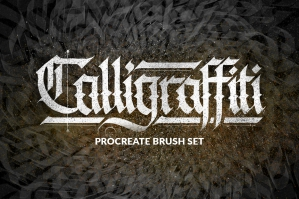 Calligraffiti Procreate Brushes