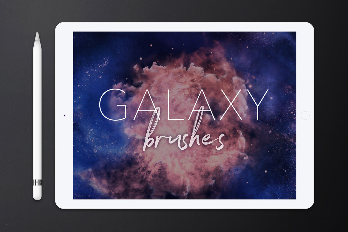 Galaxy Brushes for Procreate