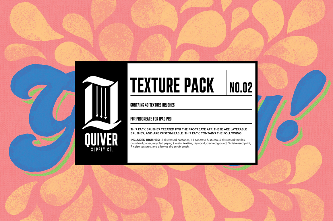 Procreate Texture Brush Pack 02