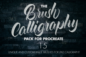 The Brush Calligraphy Procreate Pack