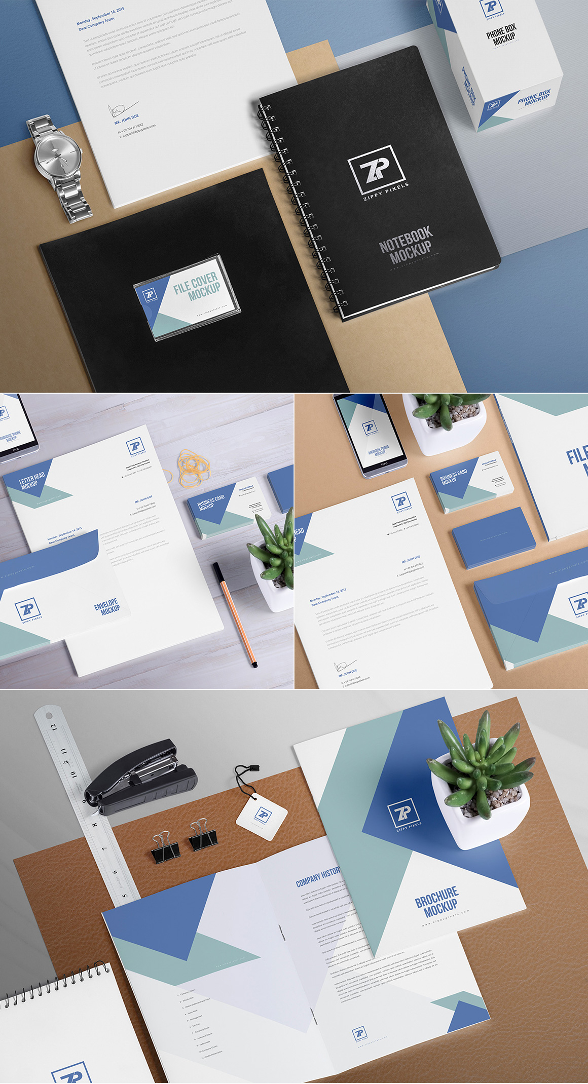 111 Stationery Mockups Collection