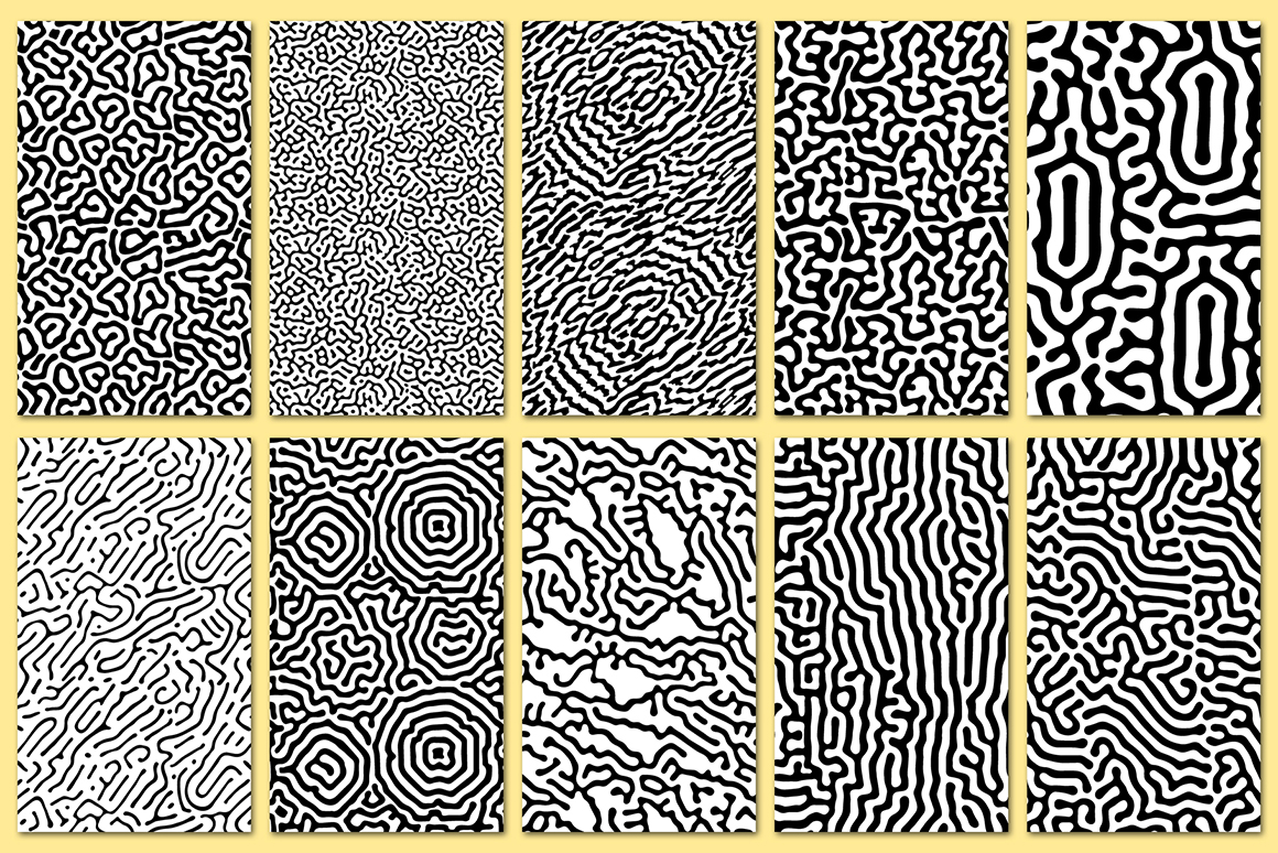 30 Abstract Seamless Vector Patterns