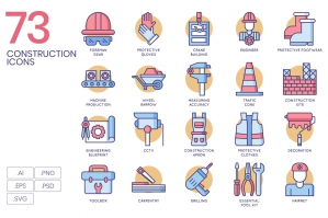 73 Construction Icons