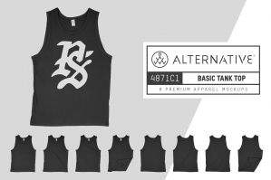 Alternative Apparel 4871C1 Tank Top Mockups