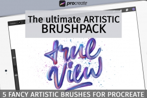Artistic Brushpack For Procreate