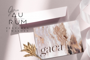 Aurum - Conceptual Gold Textures and Washes