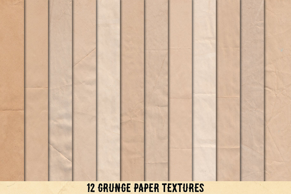 Coffee & Paper - Handcrafted Textures & Brushes Pack