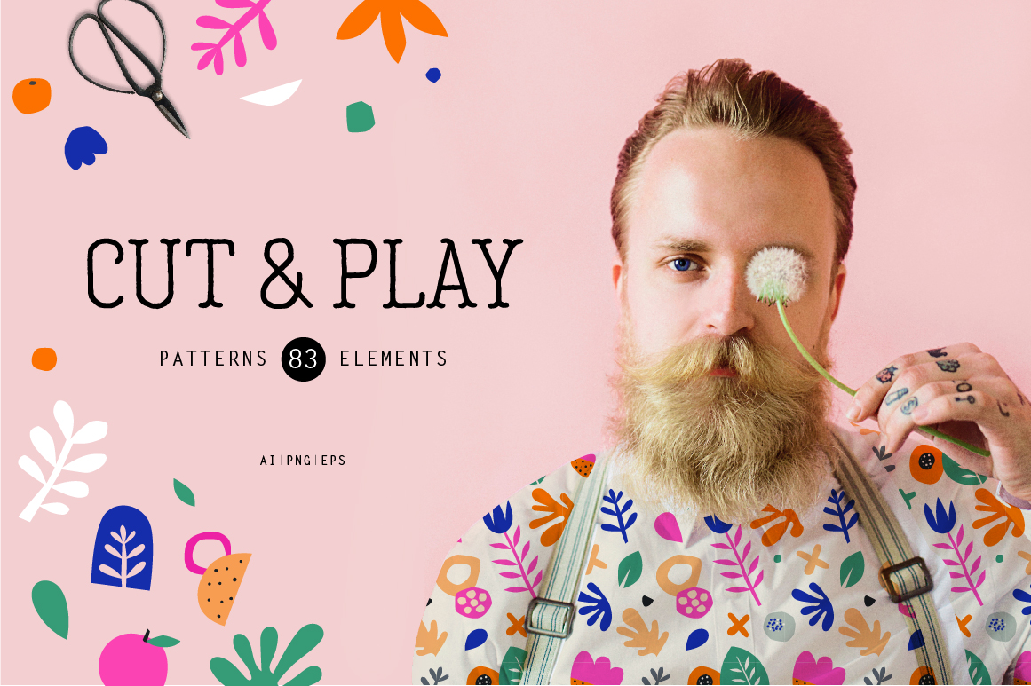 Cut and Play - Seamless Patterns
