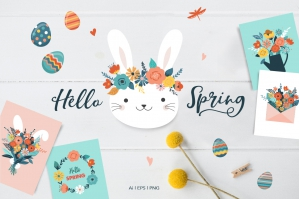 Hello Spring -  Easter Collection