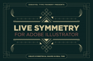 LiveSymmetry For Adobe Illustrator