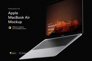 MacBook Air Mockups