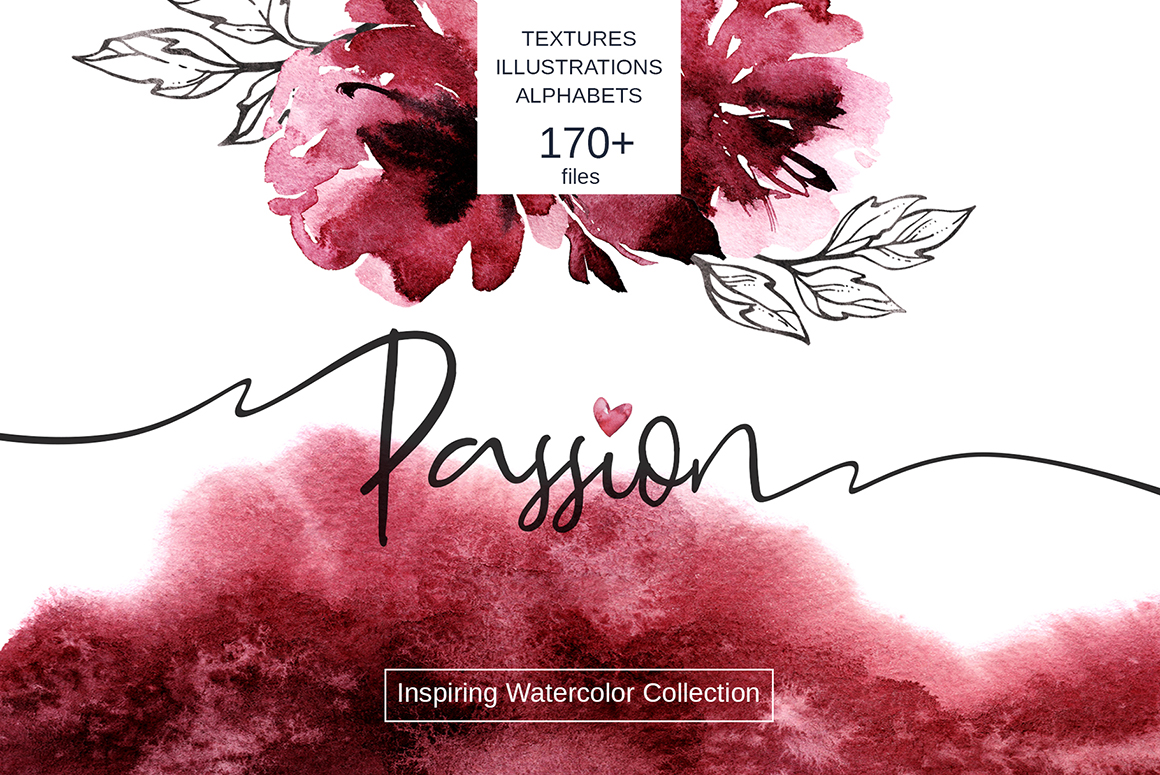 Passion Watercolor Collection
