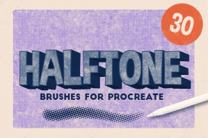Procreate Brushes Halftone