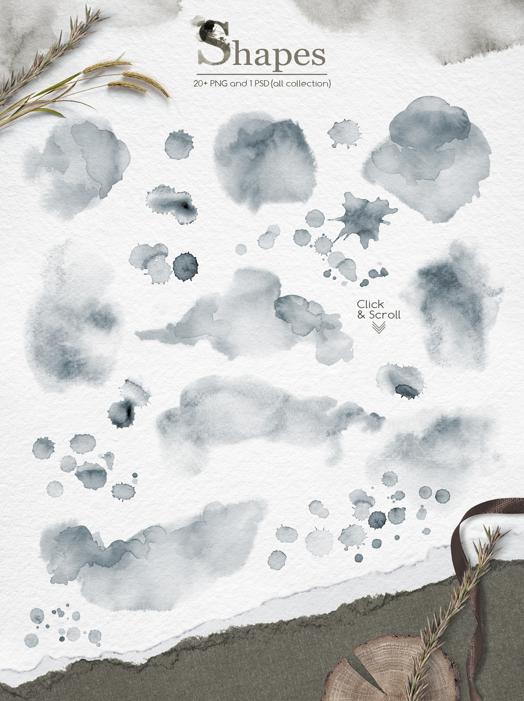 Song of Herbs Watercolor Collection