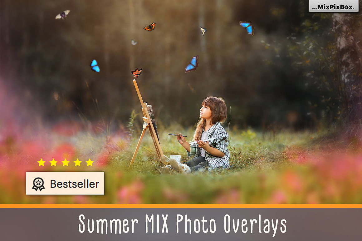 Summer Overlays Mix Pack