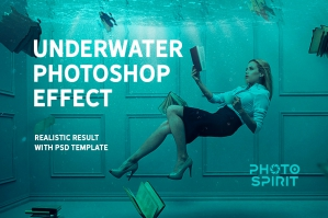 Underwater Photoshop Effect