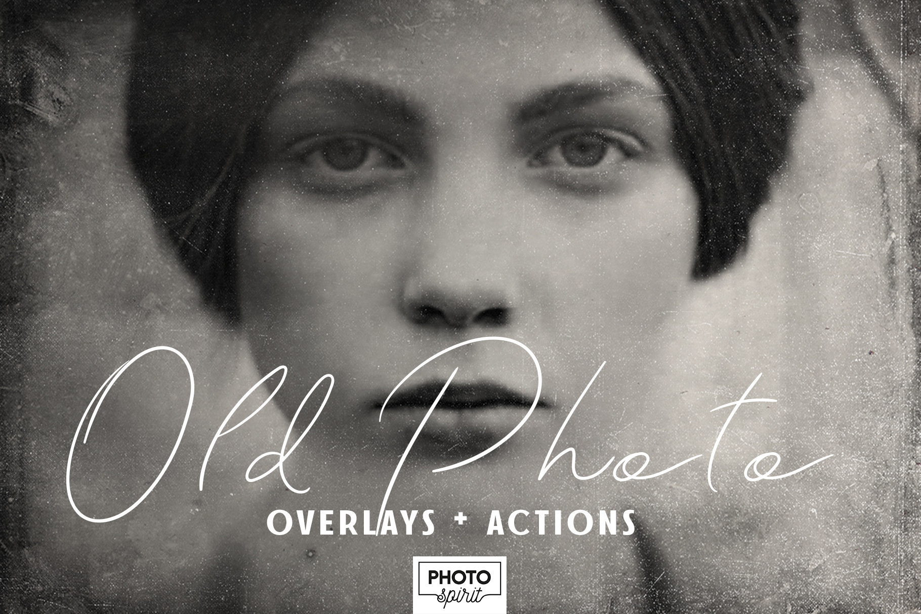Vintage Old Photo Effect Overlays and Actions