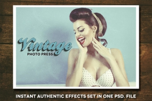 Vintage Photo Press and Freebies