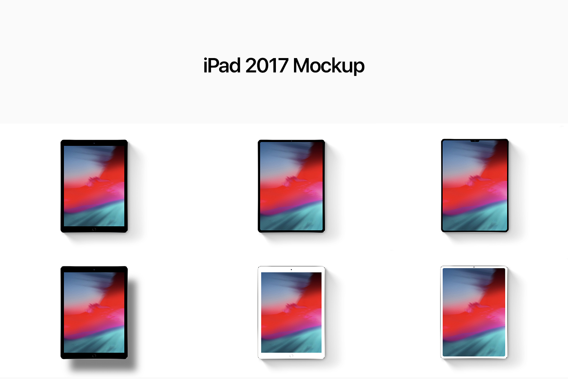 14 Apple Devices Mockups 2019