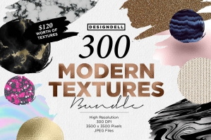 300 Modern Textures Collection