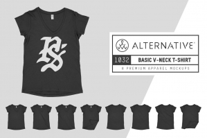 Alternative Apparel 1032 V-Neck Tee