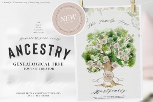 Ancestry - Genealogical Tree Toolkit Creator