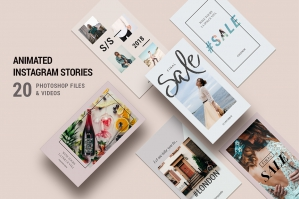 Animated Modern & Creative Instagram Stories