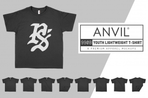 Anvil 990B Lightweight Youth T-Shirt