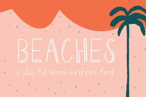 Beaches Handwritten Font