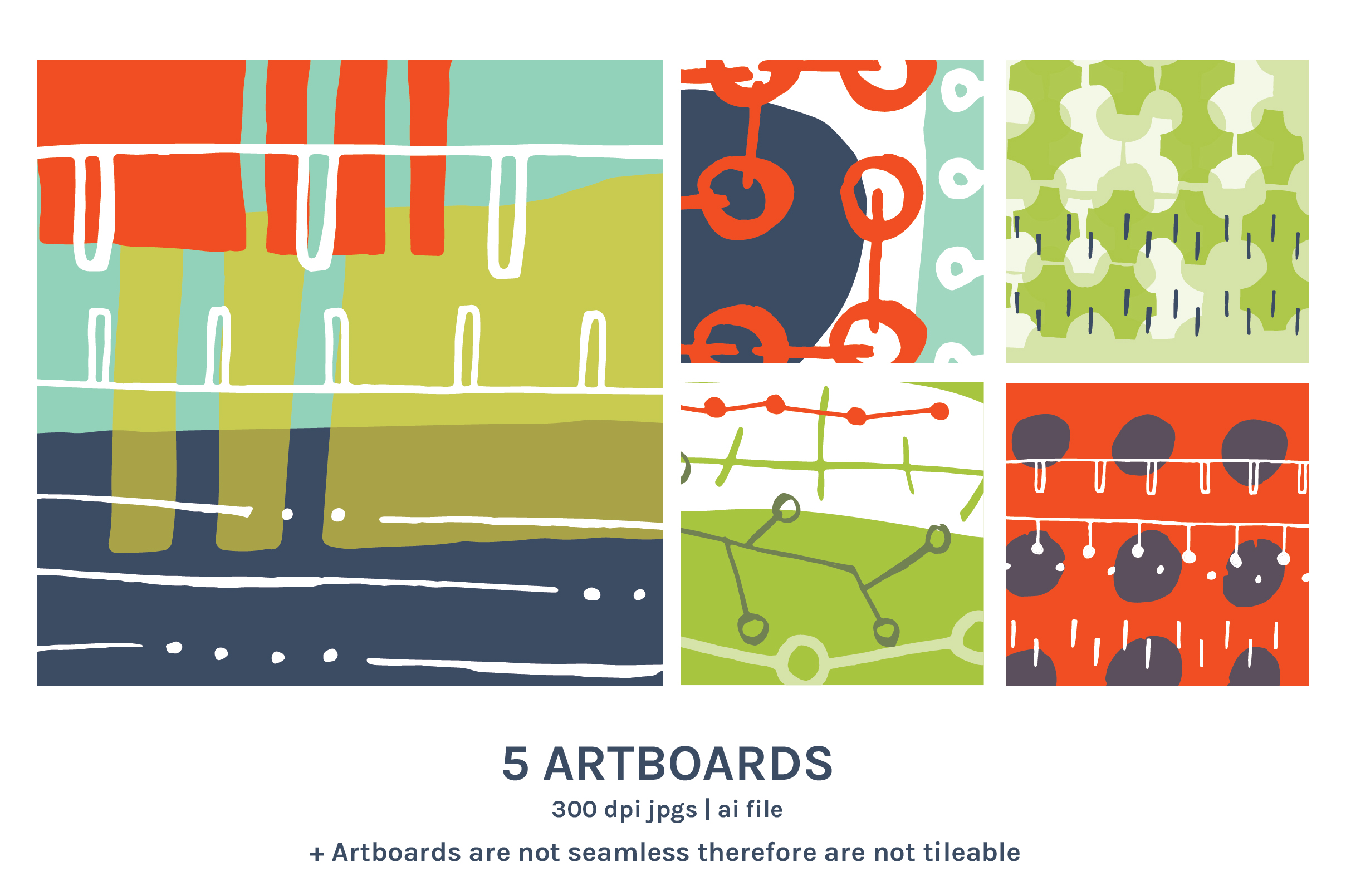 Circuits & Data Patterns And Artboards