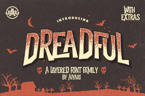 Dreadful - A Spooky Typeface