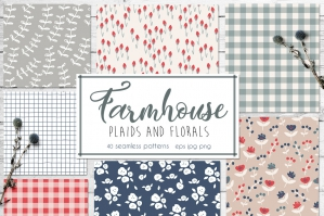 Farmhouse Plaids And Florals