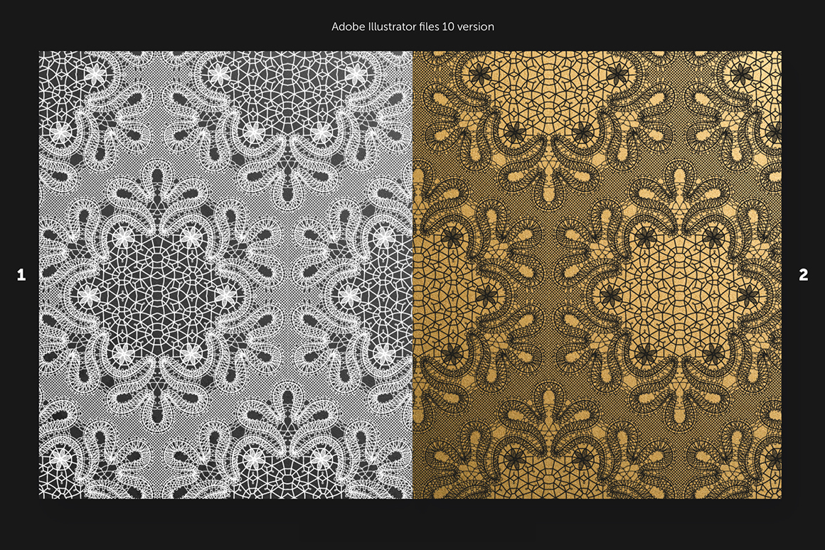 Flawless Lace Patterns Collection