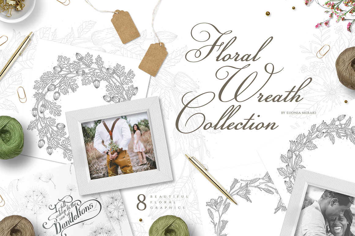 Flower Wreath Collection