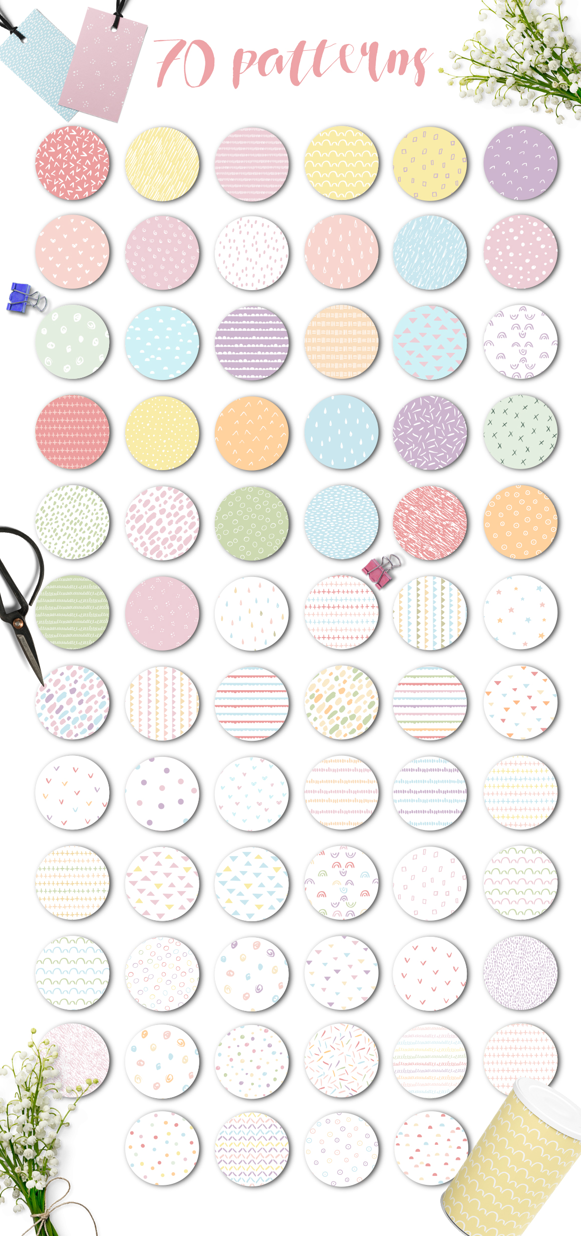 Funny Hand Drawn Patterns
