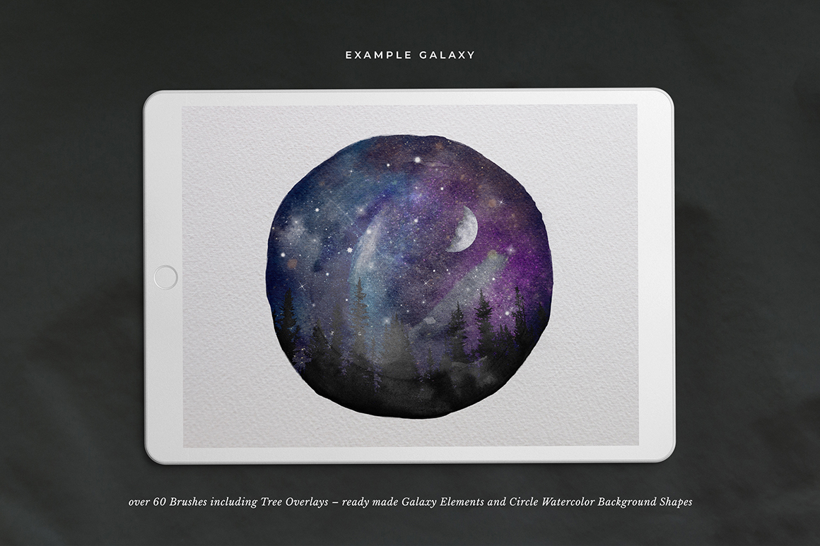 Galaxy Brushes for Procreate Vol. 2