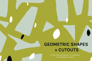 Geo Cutouts Artboards And Patterns