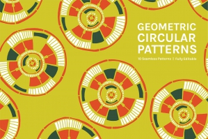 Geometric Circular Patterns Collection