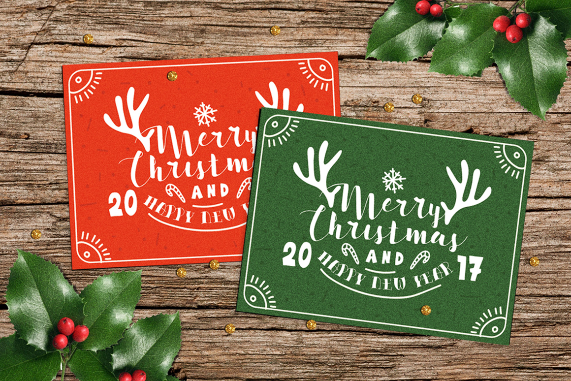 Happy Holiday Font Collection