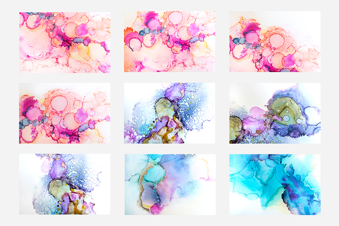 Ink Watercolor Texture Pack